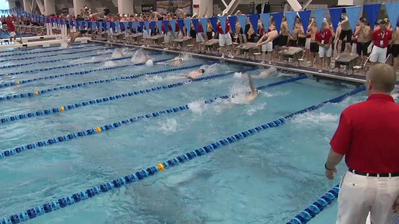 Men's 200 Medley Relay Heat 04 - 2012 Short Course YMCA National Championships