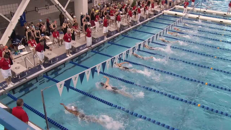 Women's 100 Freestyle Heat 01- 2012 Short Course YMCA National Championships