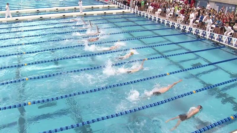 Men's 100 Backstroke Final B - 2012 Short Course YMCA National Championships