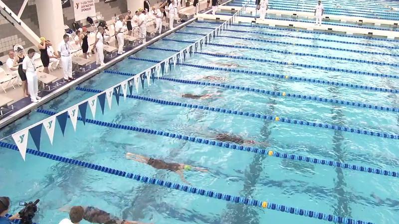 Women's 100 Backstroke Final C - 2012 Short Course YMCA National Championships