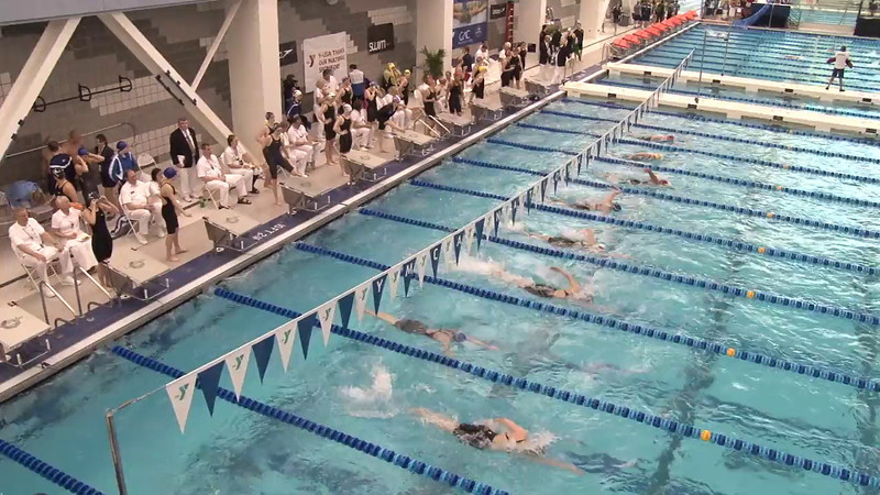 Women's 800 Freestyle Relay Final B - 2012 Short Course YMCA National Championships