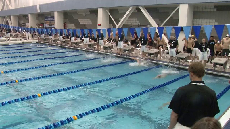 Men's 100 Butterfly Heat 17 - 2012 Short Course YMCA National Championships