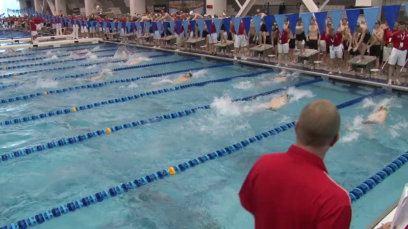 Men's 200 Medley Relay Heat 05 - 2012 Short Course YMCA National Championships