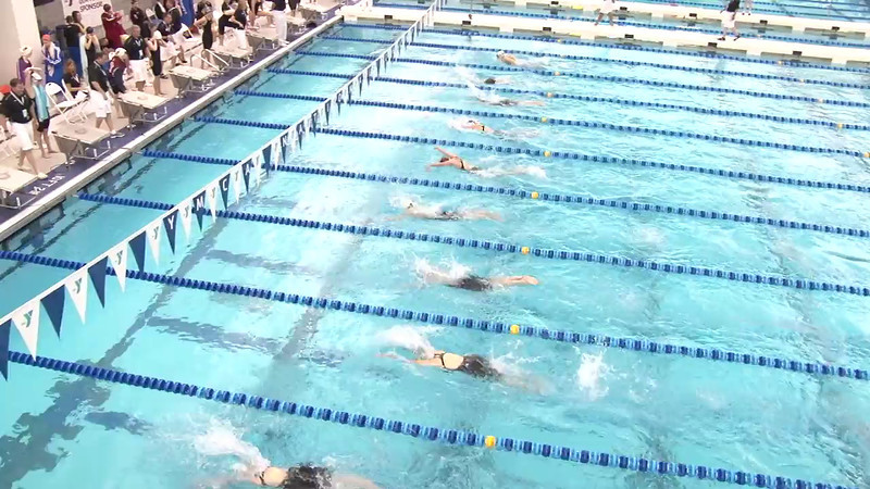Women's 200 Breaststroke Heat 01 - 2012 Short Course YMCA National Championships