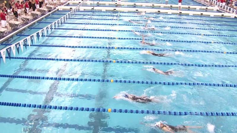 Women's 100 Backstroke Heat 11 - 2012 Short Course YMCA National Championships