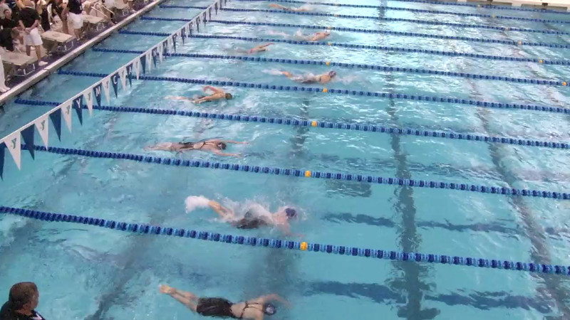 Women's 100 Breaststroke Heat 16 - 2012 Short Course YMCA National Championships
