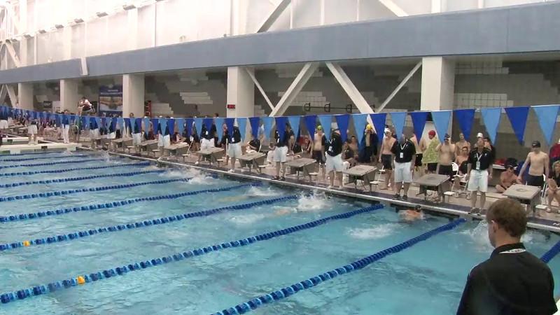 Men's 200 Breaststroke Heat 05 - 2012 Short Course YMCA National Championships
