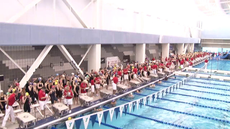 Women's 50 Freestyle Heat 02 - 2012 Short Course YMCA National Championships
