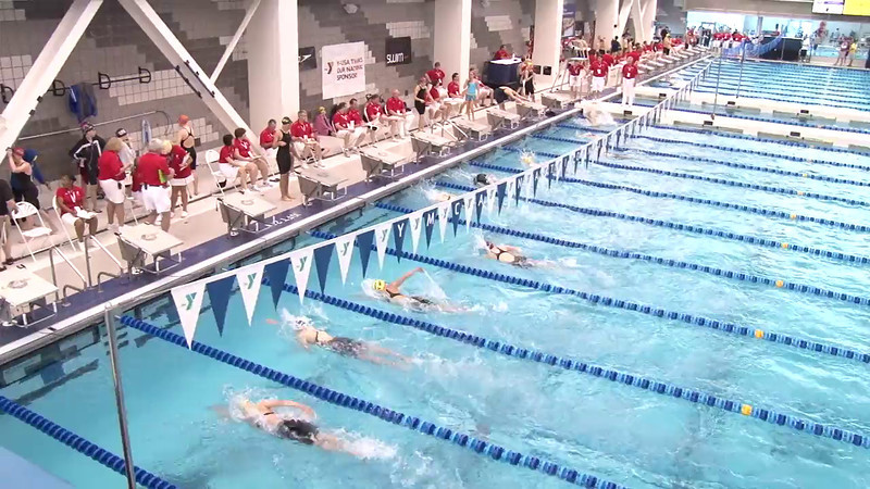 Women's 500 Freestyle Heat 02 - 2012 Short Course YMCA National Championships