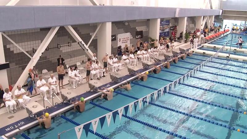 Men's 200 Backstroke Final C - 2012 Short Course YMCA National Championships