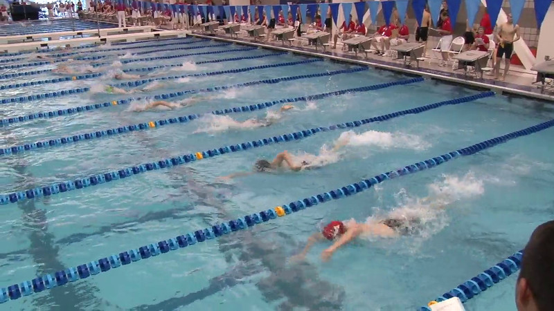 Men's 500 Freestyle Heat 04 - 2012 Short Course YMCA National Championships