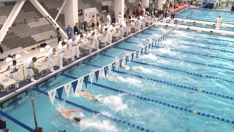 Men's 50 Freestyle Final B - 2012 Short Course YMCA National Championships