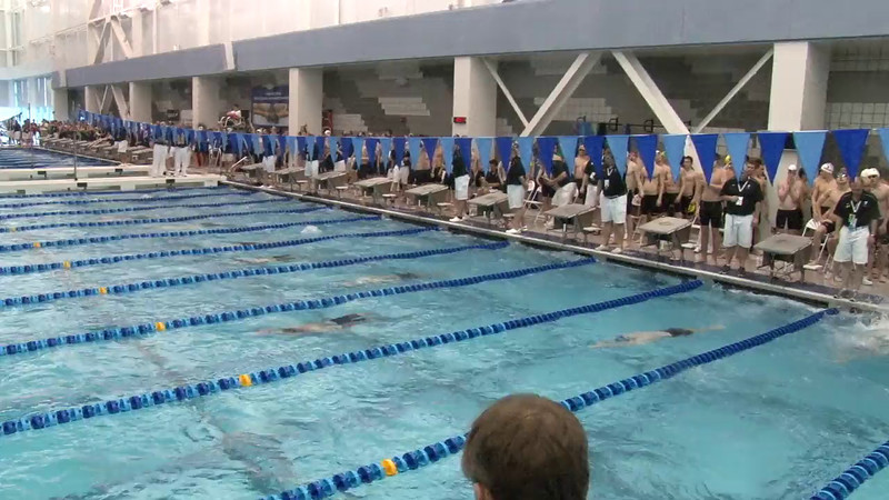 Men's 400 Medley Relay Heat 02 - 2012 Short Course YMCA National Championships