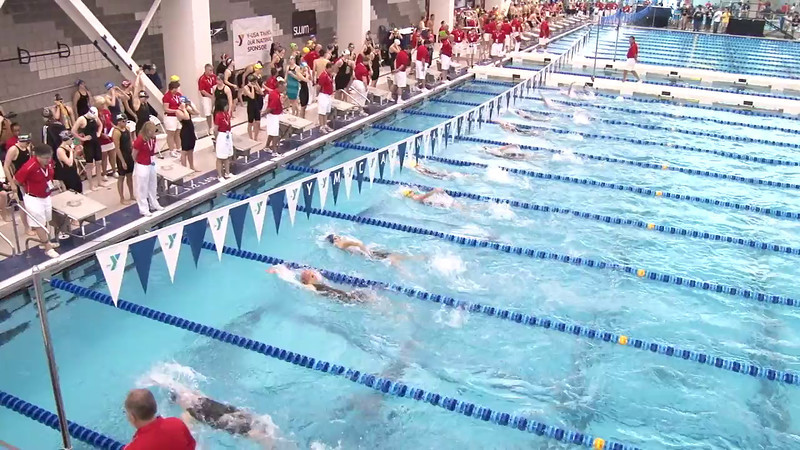 Women's 100 Backstroke Heat 12 - 2012 Short Course YMCA National Championships