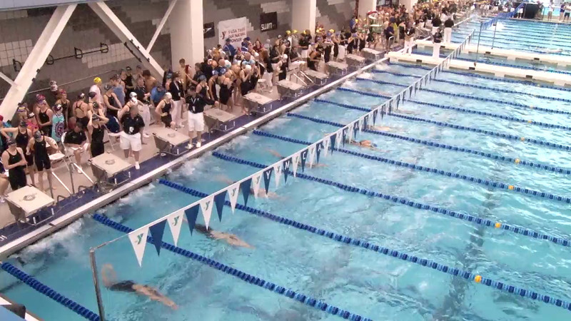 Women's 400 Freestyle Relay Heat 04 - 2012 Short Course YMCA National Championships