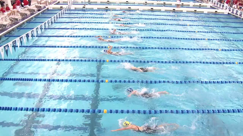 Women's 500 Freestyle Heat 11 - 2012 Short Course YMCA National Championships
