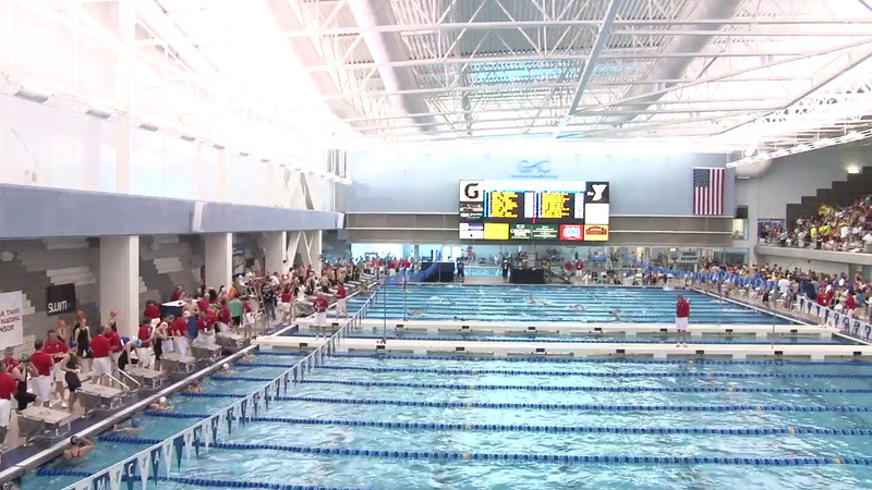 Women's 50 Freestyle Heat 19 - 2012 Short Course YMCA National Championships