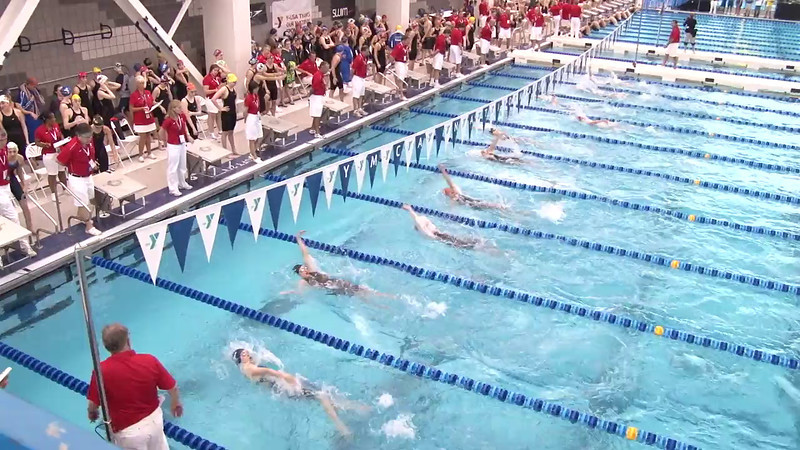 Women's 100 Backstroke Heat 05 - 2012 Short Course YMCA National Championships