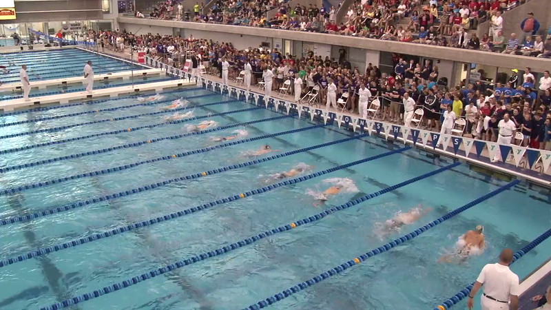Men's 200 Butterfly Final B - 2012 Short Course YMCA National Championships