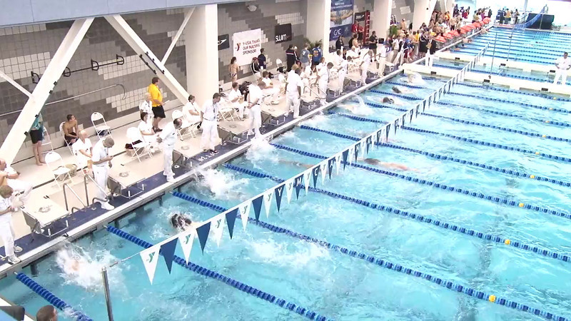 Men's 100 Freestyle Final A - 2012 Short Course YMCA National Championships