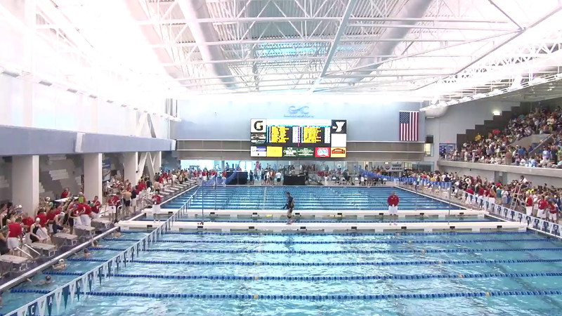 Women's 50 Freestyle Heat 13 - 2012 Short Course YMCA National Championships