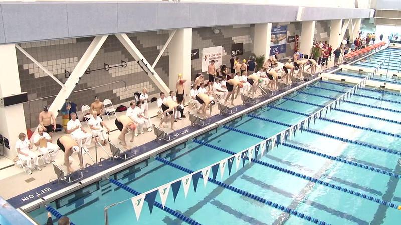 Men's 100 Freestyle Final C - 2012 Short Course YMCA National Championships