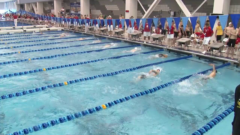 Men's 200 Backstroke Heat 06 - 2012 Short Course YMCA National Championships