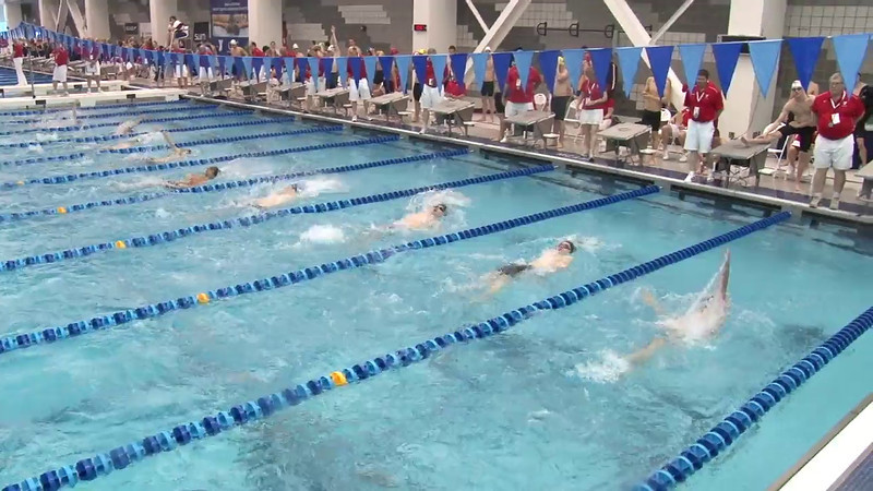 Men's 200 Backstroke Heat 07 - 2012 Short Course YMCA National Championships