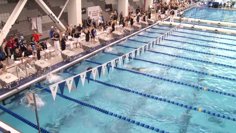 Women's 200 Freestyle Heat 10 - 2012 Short Course YMCA National Championships