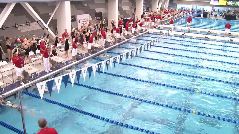 Women's 200 Medley Heat 03 - 2012 Short Course YMCA National Championships