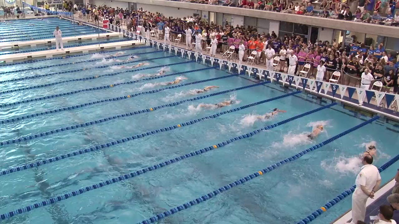 Women's 200 Freestyle Final B - 2012 Short Course YMCA National Championships