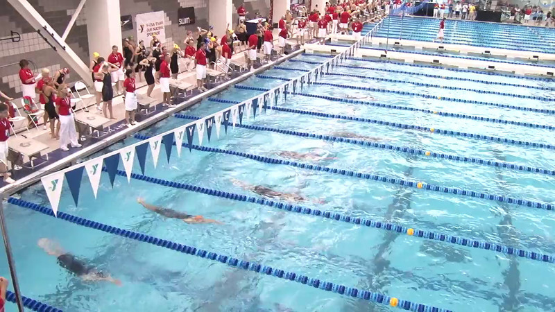 Women's 100 Backstroke Heat 15 - 2012 Short Course YMCA National Championships