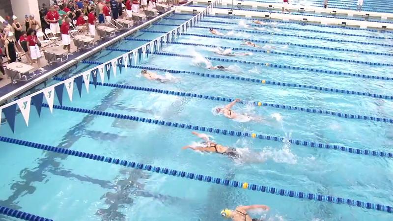 Women's 200 Medley Heat 12 - 2012 Short Course YMCA National Championships