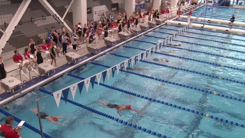 Women's 800 Freestyle Relay Heat 03 - 2012 Short Course YMCA National Championships