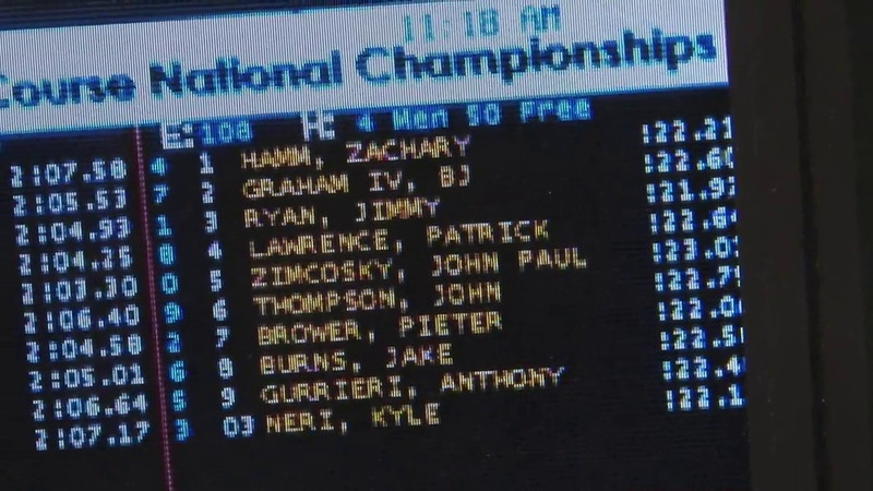 Men's 50 Freestyle Heat 04 - 2012 Short Course YMCA National Championships