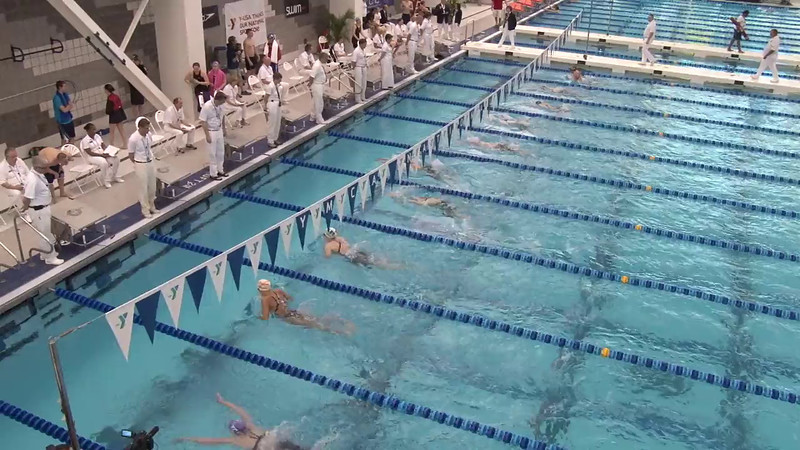 Women's 200 Butterfly Heat Final B - 2012 Short Course YMCA National Championships