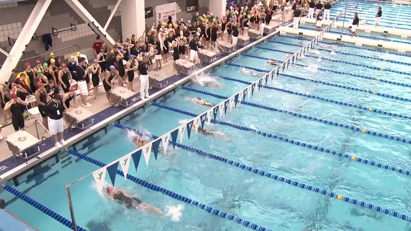 Women's 400 Medley Relay Heat 05 - 2012 Short Course YMCA National Championships