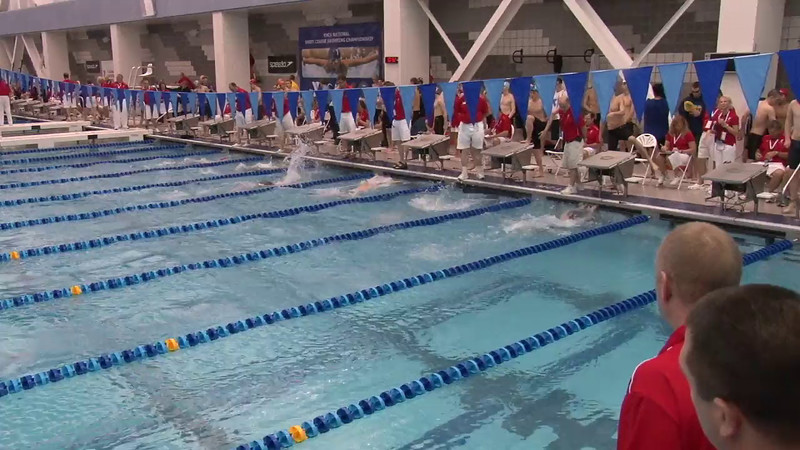Men's 200 Medley Heat 01 - 2012 Short Course YMCA National Championships