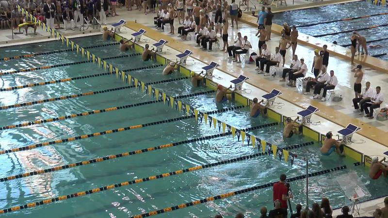 Men's 100m Backstroke C Final