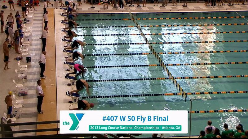 Women 50 Butterfly B Final