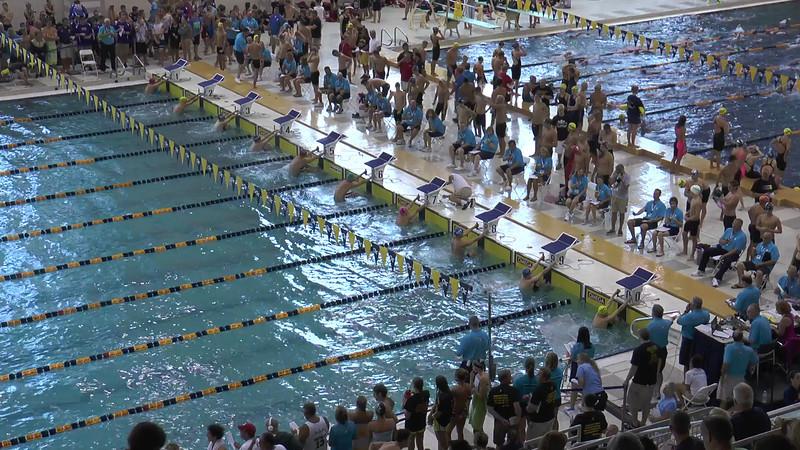 Men's 100m Backstroke Heat 3