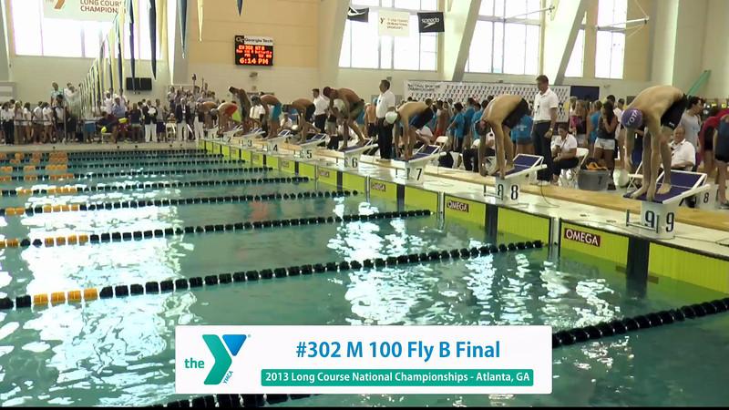 Men 100 Butterfly A Final