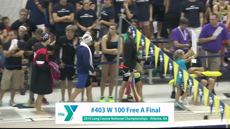 Women 100 Freestyle A Final