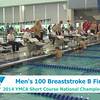 M 100 Breaststroke B Final