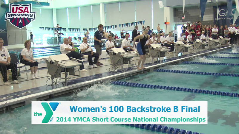 W 100 Backstroke B Final