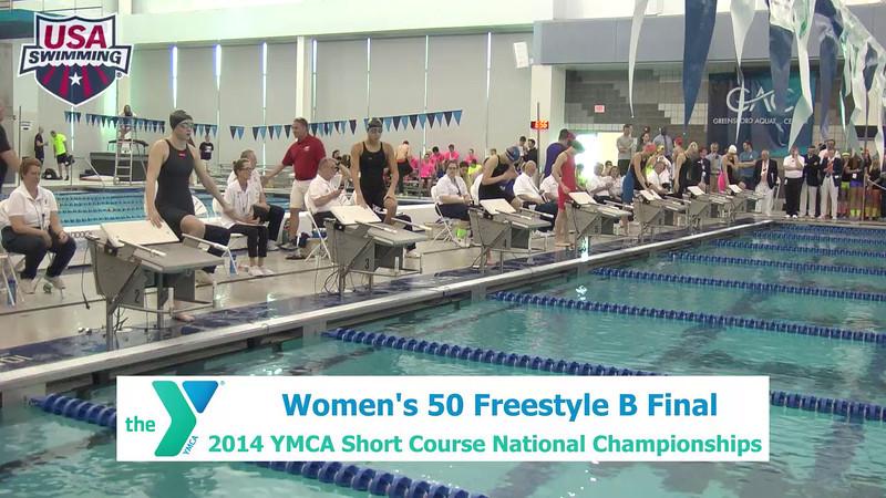 W 50 Freestyle - B Final - A Final