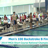 M 100 Backstroke B Final