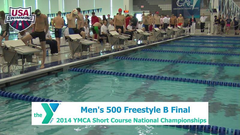M 500 Freestyle B Final
