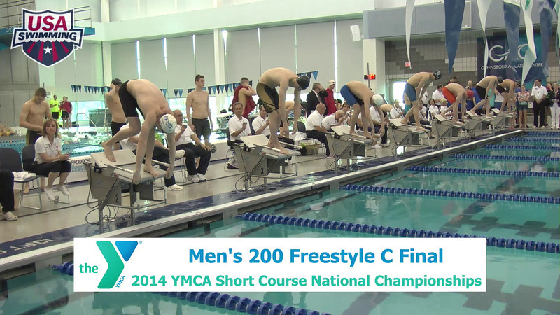 M 200 Freestyle C Final