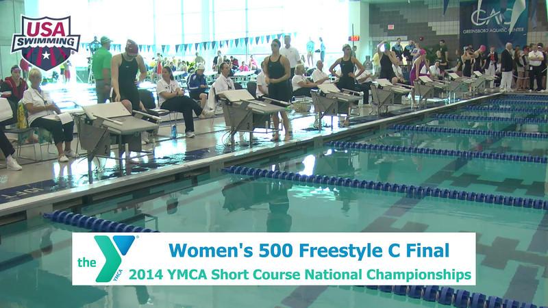 W 500 Freestyle C Final